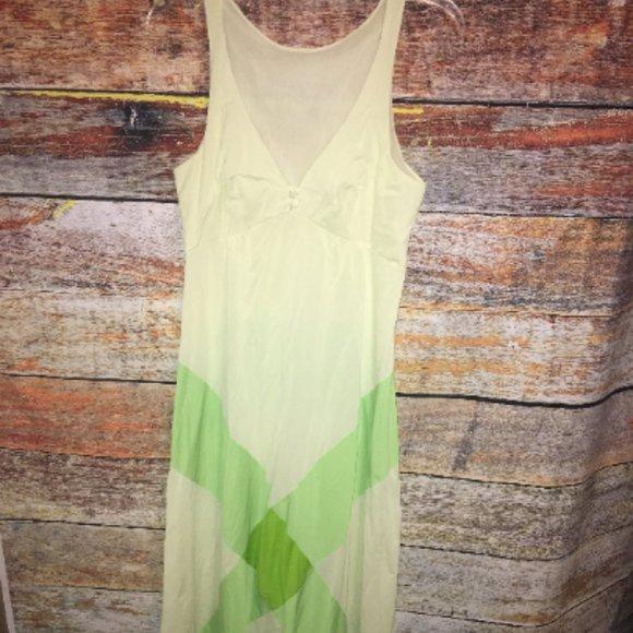 Vintage 70s Formfit Roger Long slip Nightgown
